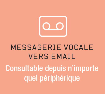 Messagerie vocale vers e-mail